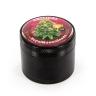 RQS Grinder Métal Plante Noir Avec Logo De Variété