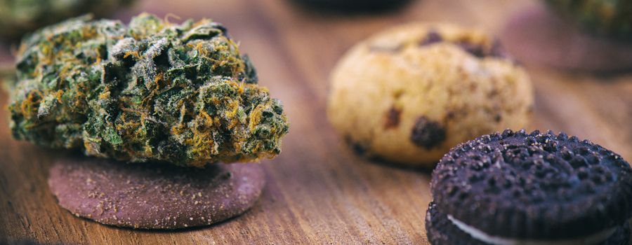 Biscuits de cannabis maison