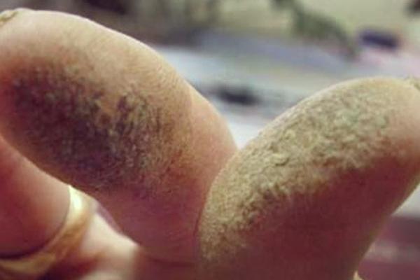faire hachage avec roulement de la main