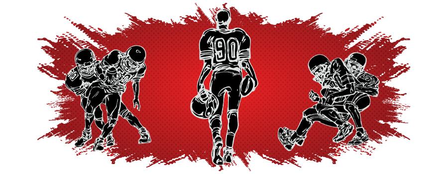 Traitement de la CDB du sport de la douleur NFL