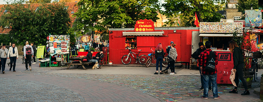 Christiania Danemark Cannabis Freetown