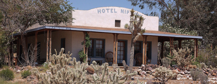 Nipton Hotel California canna tourisme