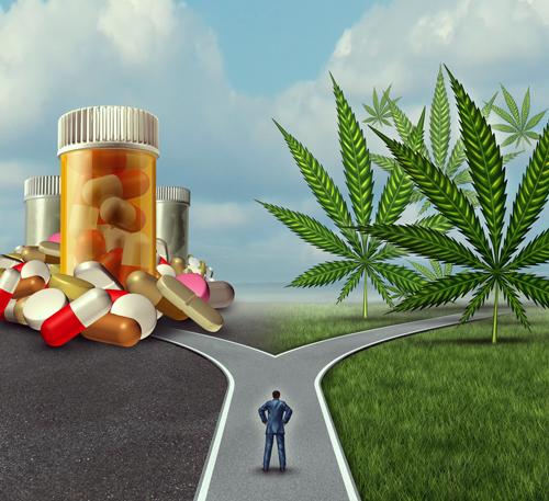 Migraine, cannabis, pilule, maux de tête, traitement
