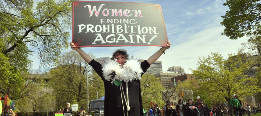 Féminisme cannabis leader révolution légalisation