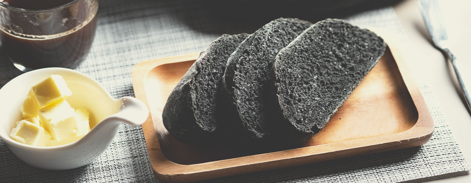 Recette de pain au charbon