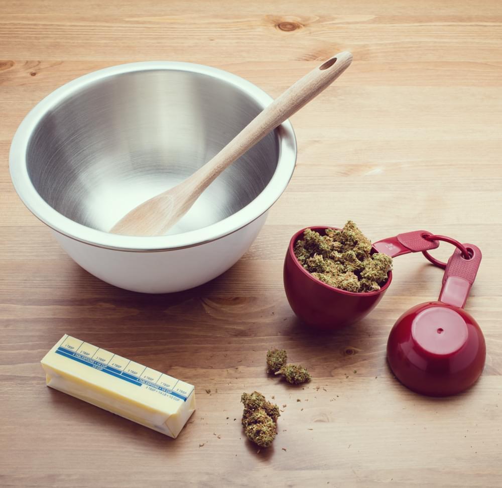 Cannabis infusé mayonnaise saine marijuana recette edibles
