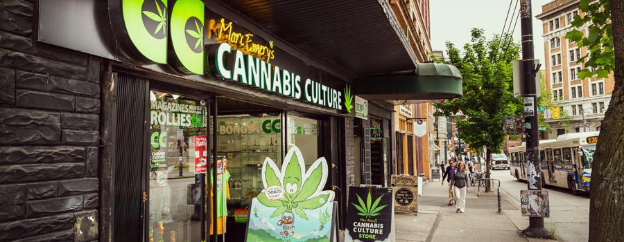 Distributeur de cannabis