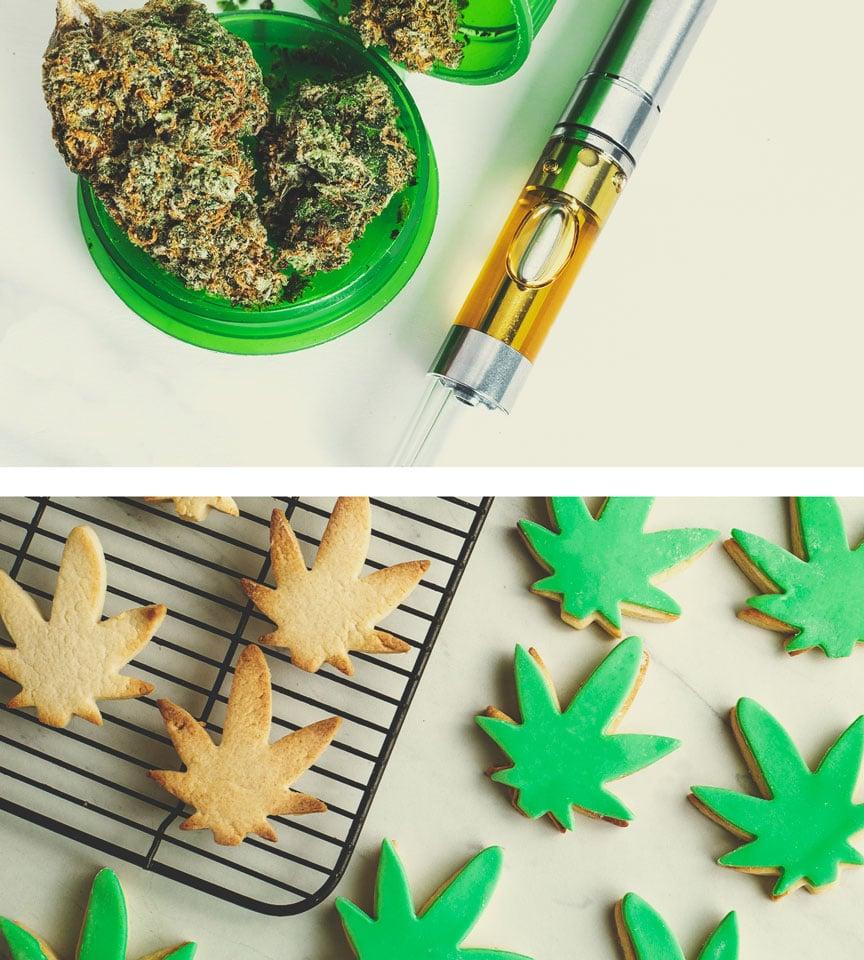 Quelles sont les alternatives à la fumée du cannabis ?