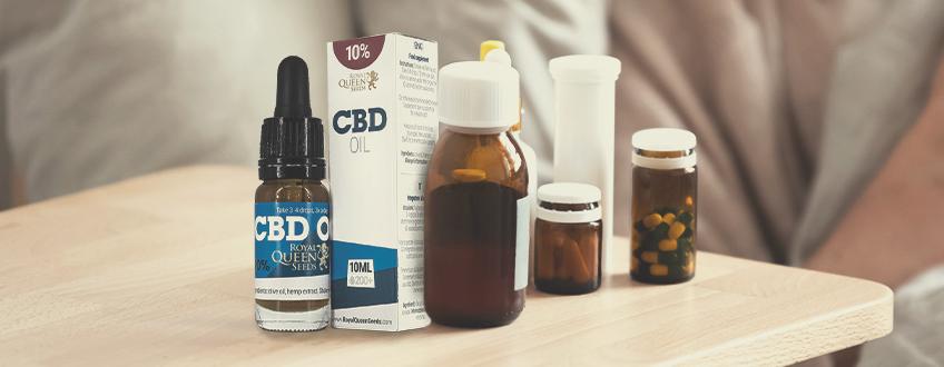 CBD ou Ibuprofène