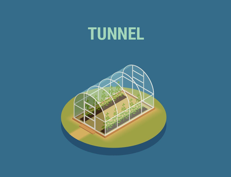 Serres tunnel