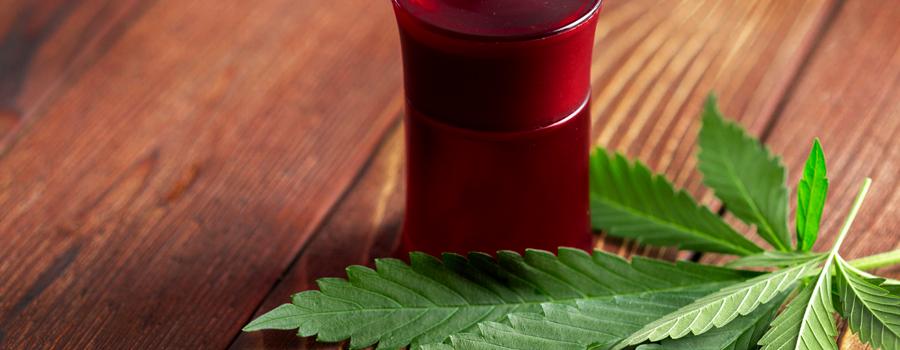 Lubrifiant à l'huile de cannabis