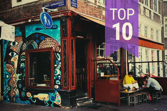 Top 10 des Coffee shops à Amsterdam